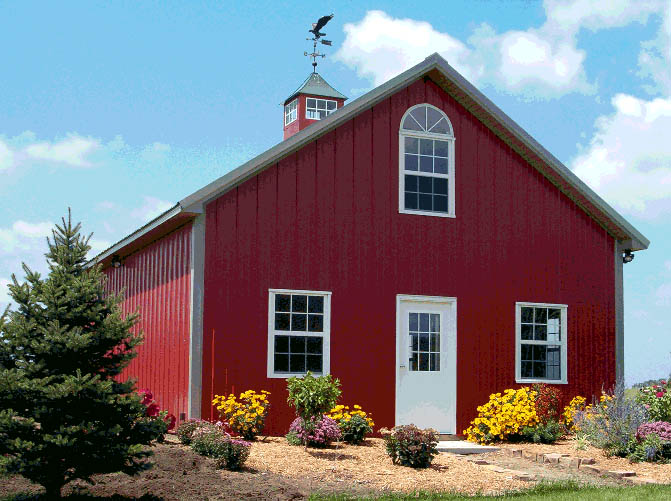cost of plans homes home building pole a barn and materials barns michigan house prices