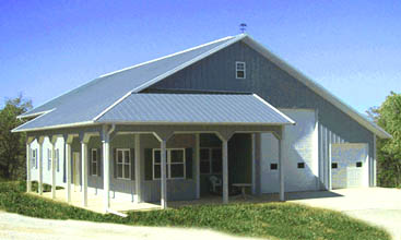 Are Pole Barns Or Prefabricated Metal Buildings Better